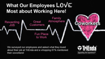 Read real responses from our team about why they love their job.